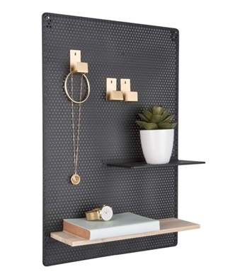 Present Time memo board Perky, mesh, black