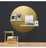Groovy Magnets magneetsticker, rond XL, goud
