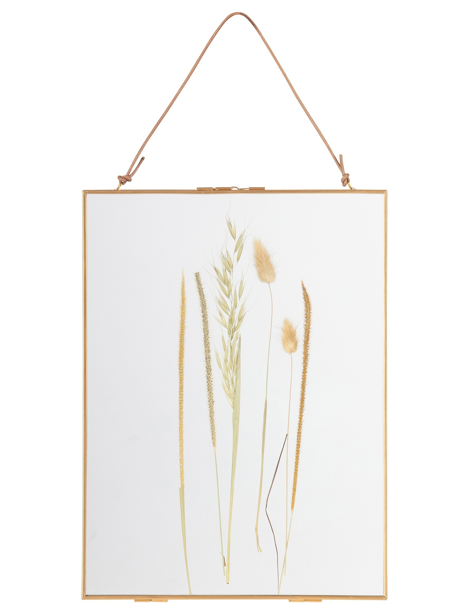 BePure frame Pressed, 30x40, gold