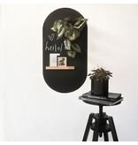 Groovy Magnets chalkboard magnet sticker, oval