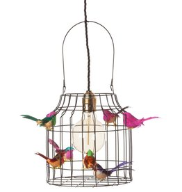 Dutch Dilight pendant lamp birds, mixed colours