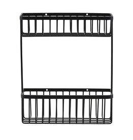 House Doctor Bath rack,black, double