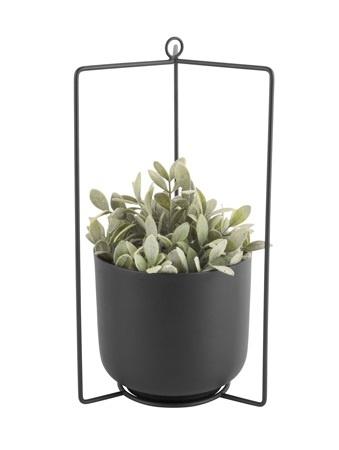 Present Time hanging pot Spatial, black