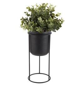 Present Time plantenpot op standaard Tub, zwart