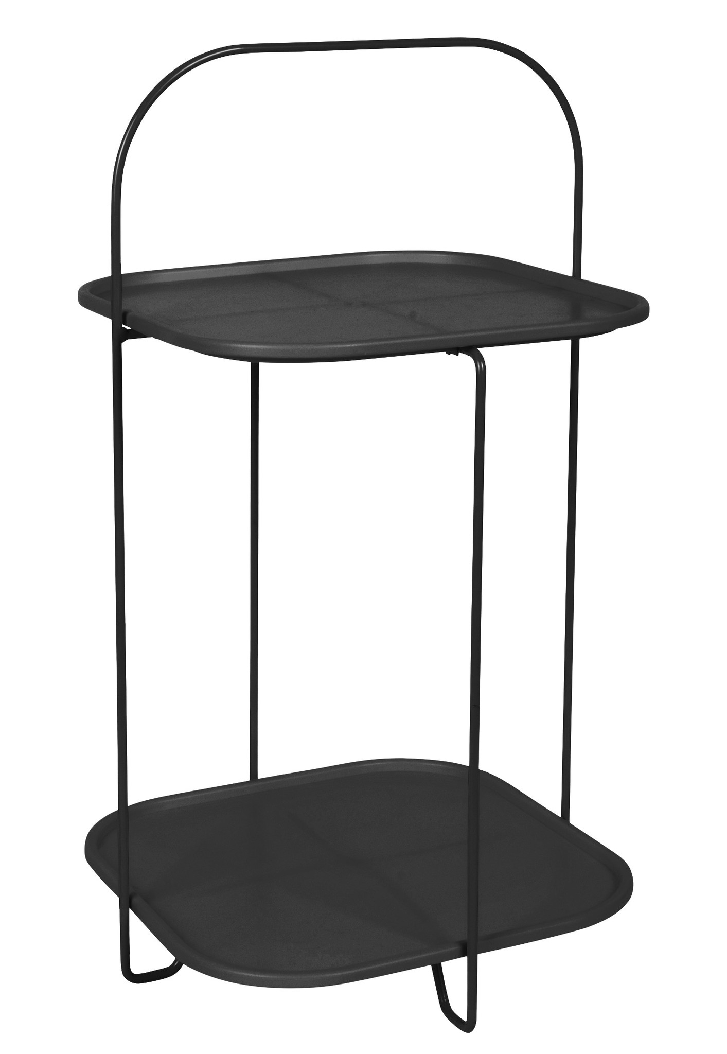 Present Time side table Trays, black