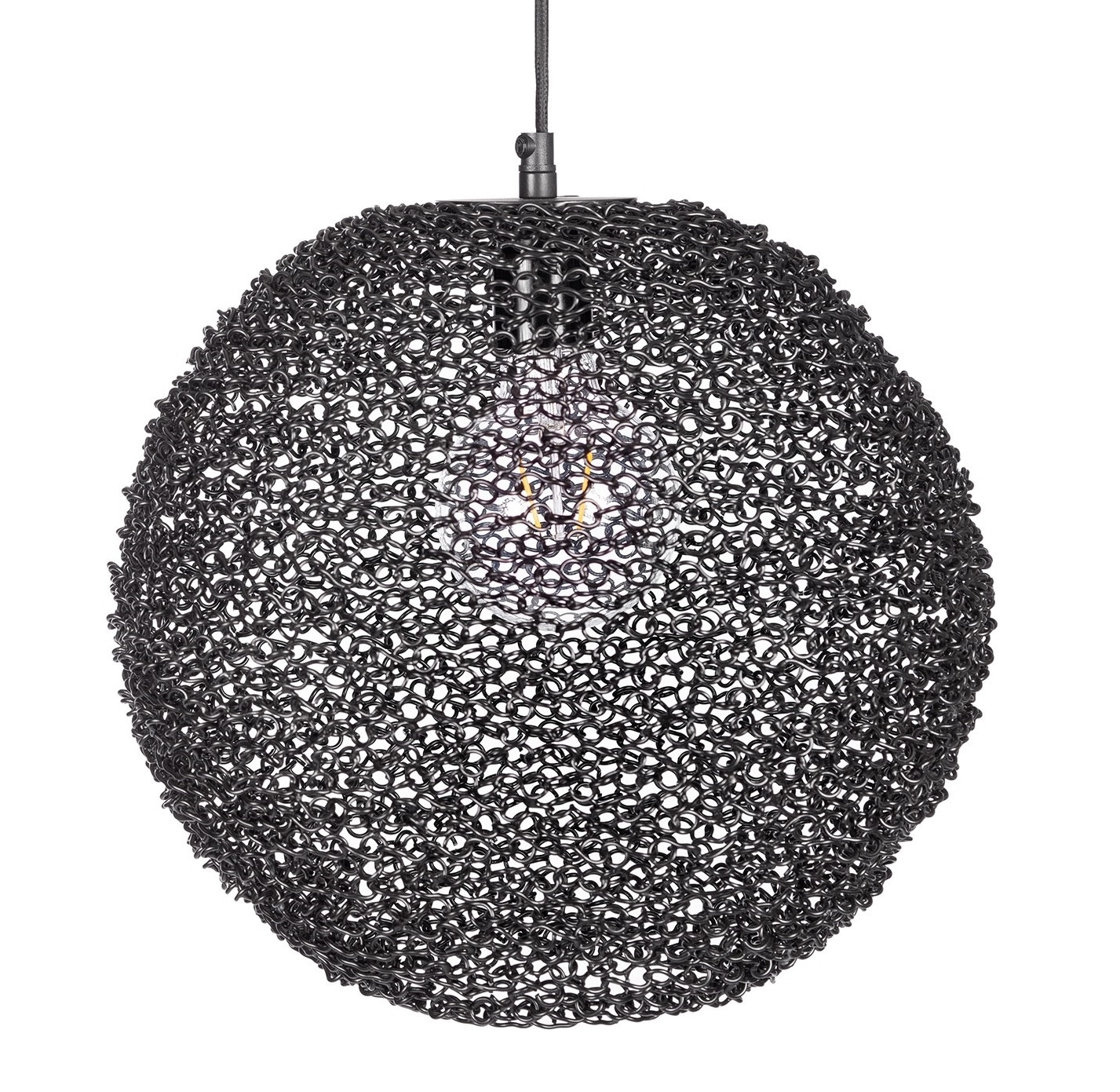 Bodilson pendant lamp  Spinner, black