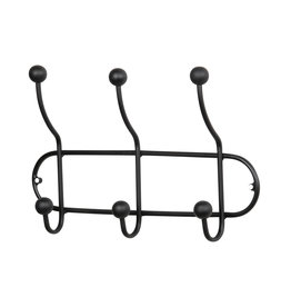 BePure coat rack Barb, black