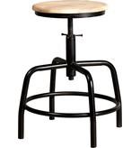 New Routz metal stool Denver, black