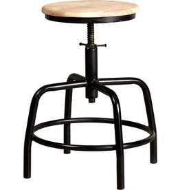 New Routz metal stool Denver, black