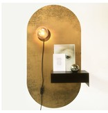 Groovy Magnets magneetsticker vintage goud, ovaal