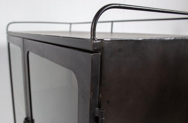 BePure metal cabinet Talent, black