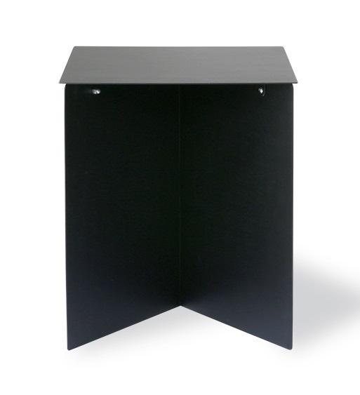 HK Living side table Rectangular, black