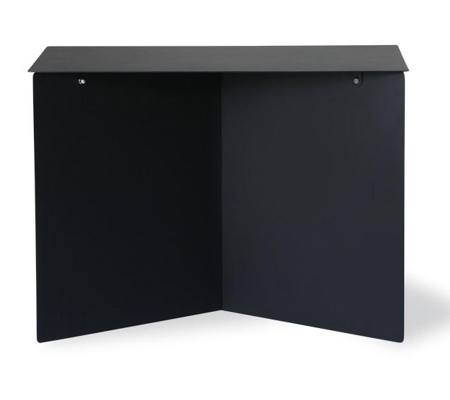 HKliving bijzettafel Rectangular, zwart