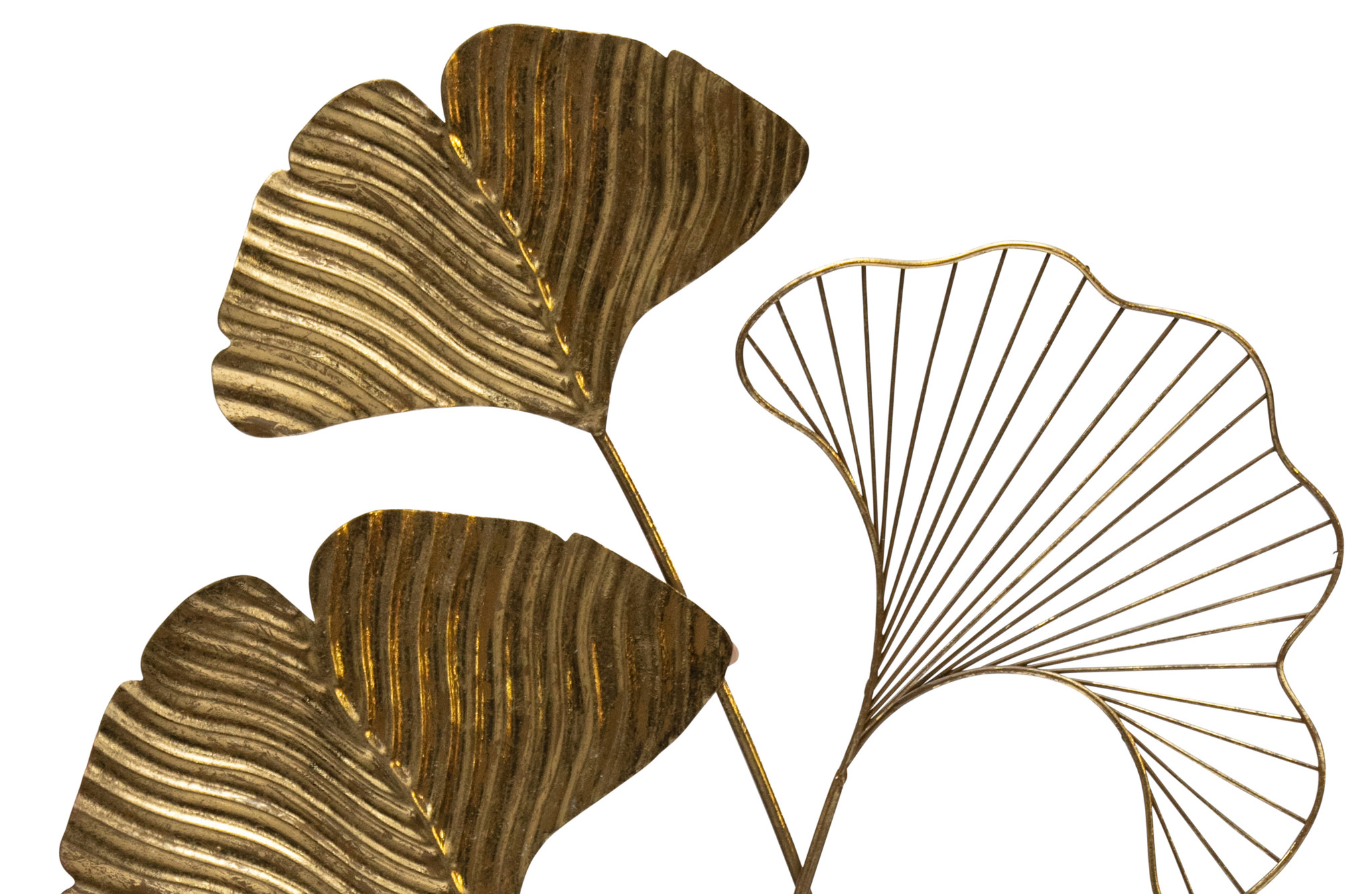 BePure wall decoration Leafage, brass