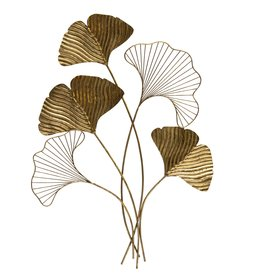 BePure wanddecoratie  Leafage, goud