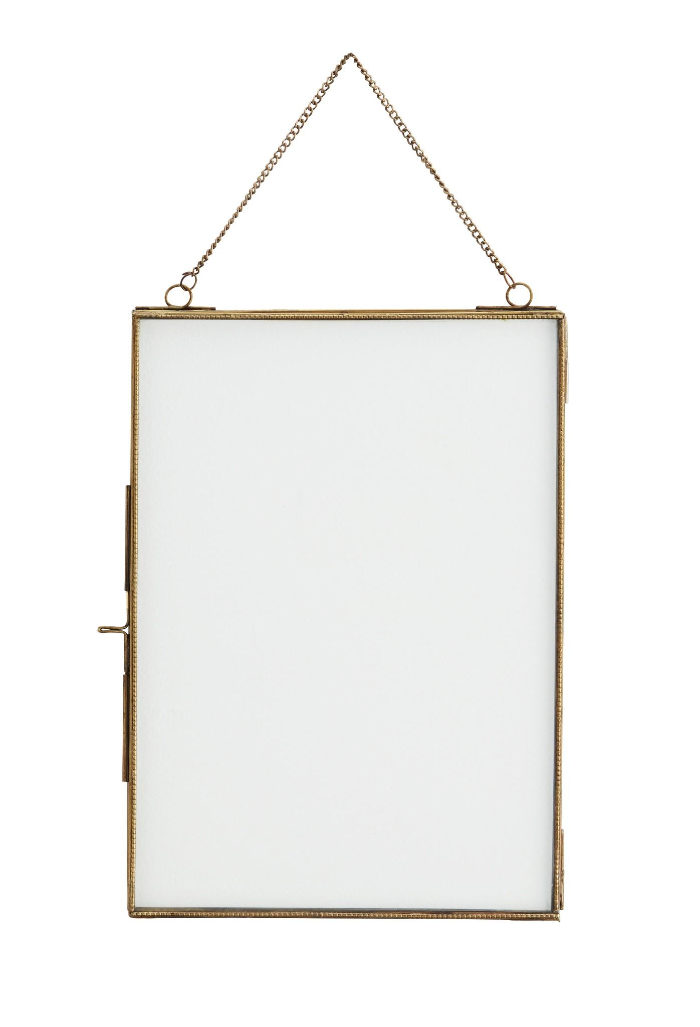 Madam Stoltz photo frame, 21x29,5, gold