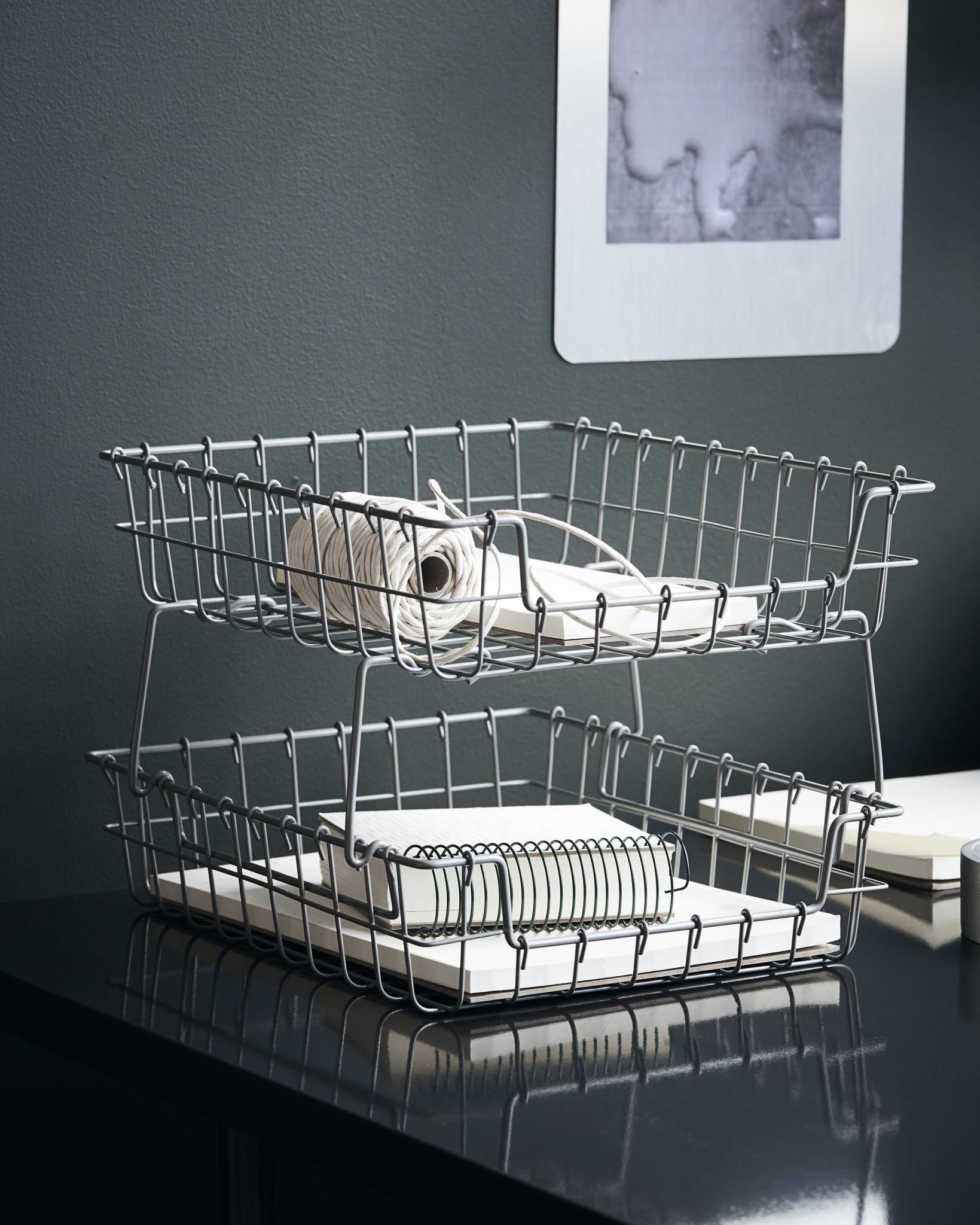 House Doctor basket Addit, grey