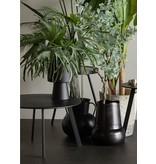 Woood side table, Fer Ø 70,  black