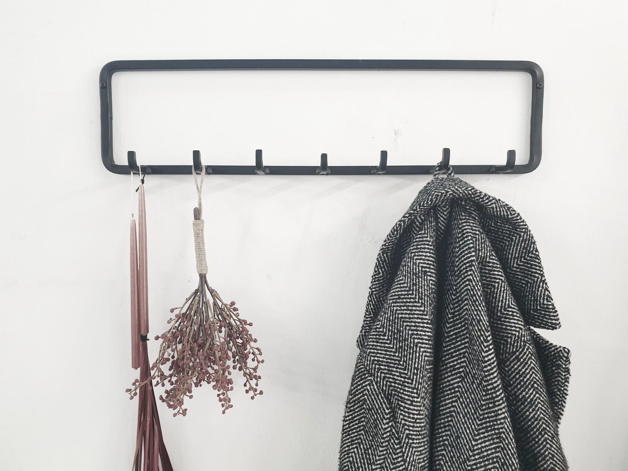 Stoer Metaal coat hook Hook, kort