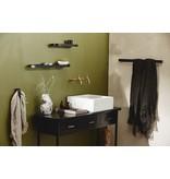 Nordal shower  wall shelf Sotra, black