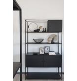 Stoer Metaal metal cabinet Moor, black