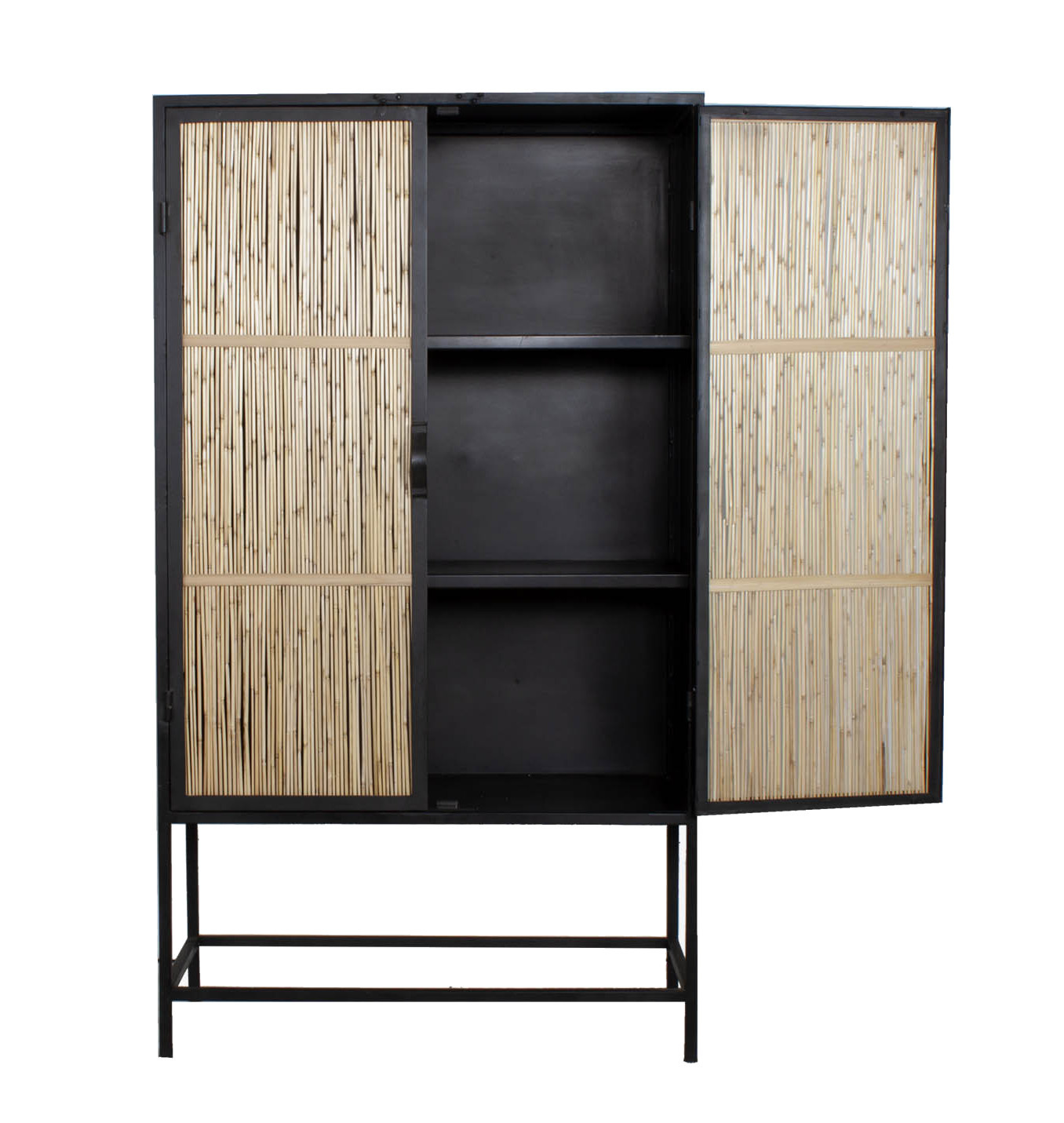 New Routz iron cabinet with bamboo, Tucson