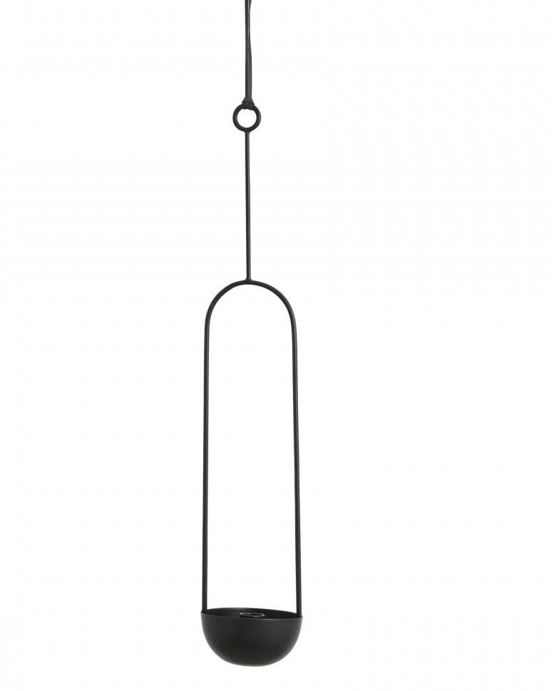 Nordal hang kandelaar Kobba, zwart