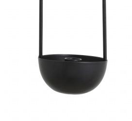 Nordal hanging candlestick Kobba, black