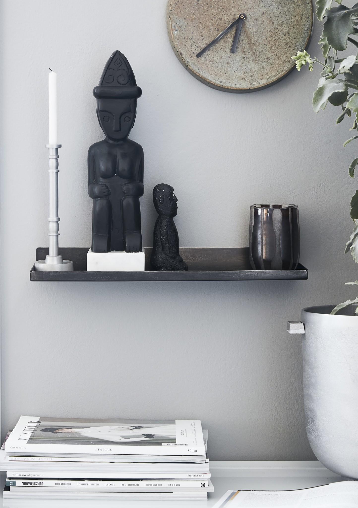 House Doctor wall shelf Boti, metal