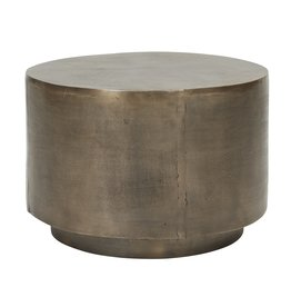 House Doctor side table  Rota, antique brass