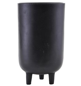 House Doctor plant pot Jang, high, black