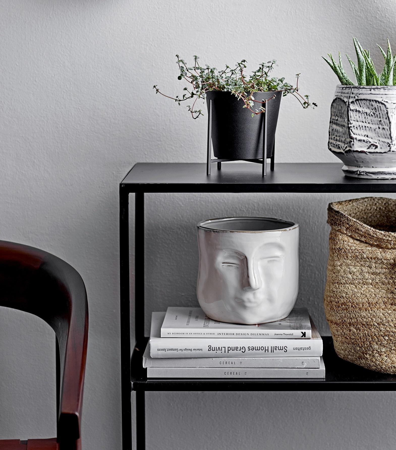 Bloomingville plant pot Ilse, set, black