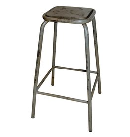 Trademark Living barstool, gray