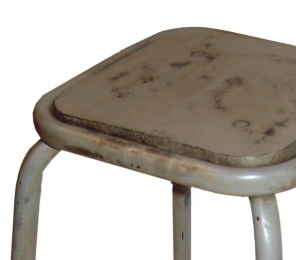 Trademark Living barkruk, grijs