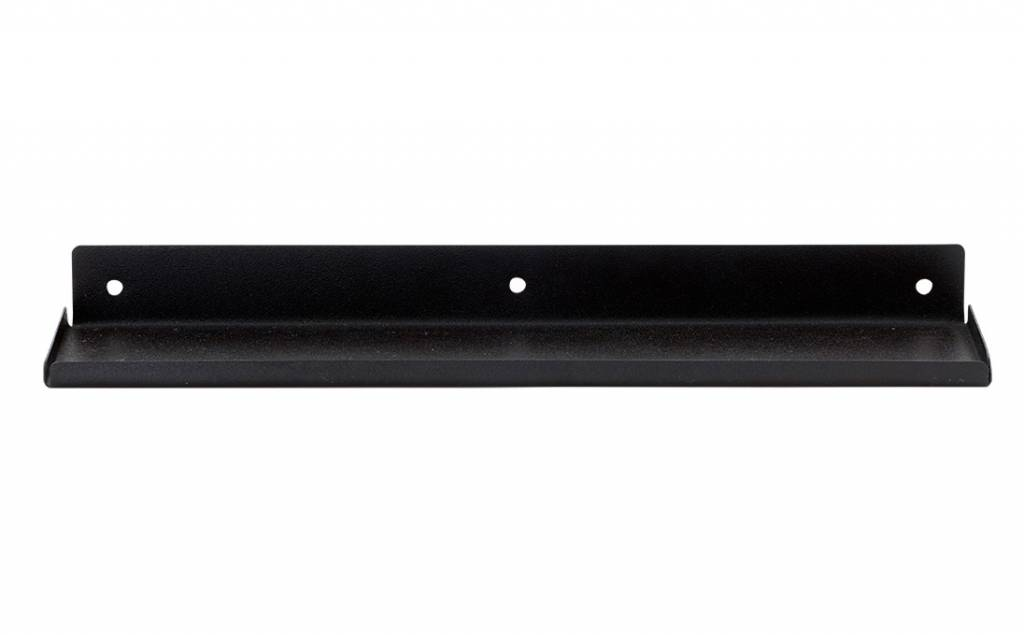 Wandplank Zwart Metaal.House Doctor Wandplank Ledge Zwart Stoer Metaal