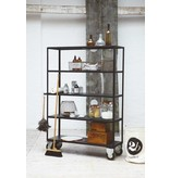 House Doctor shelving unit on wheels