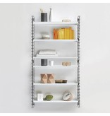 Tomado wall cabinet, black and white