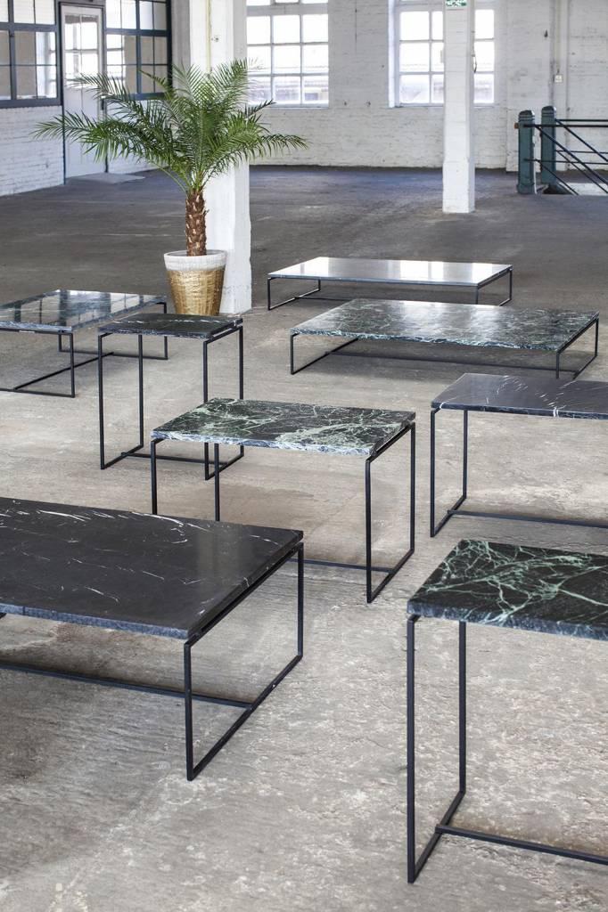 Serax Nero coffee table, small, black marble