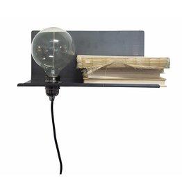 Stoer Metaal wandlamp Peer, links