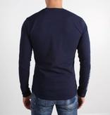 Icelus Clothing Paint Longsleeve Blue