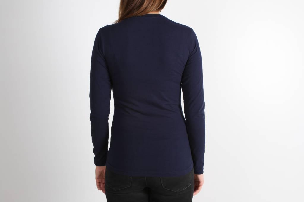 Icelus Clothing Zipper Longsleeve Blue Women