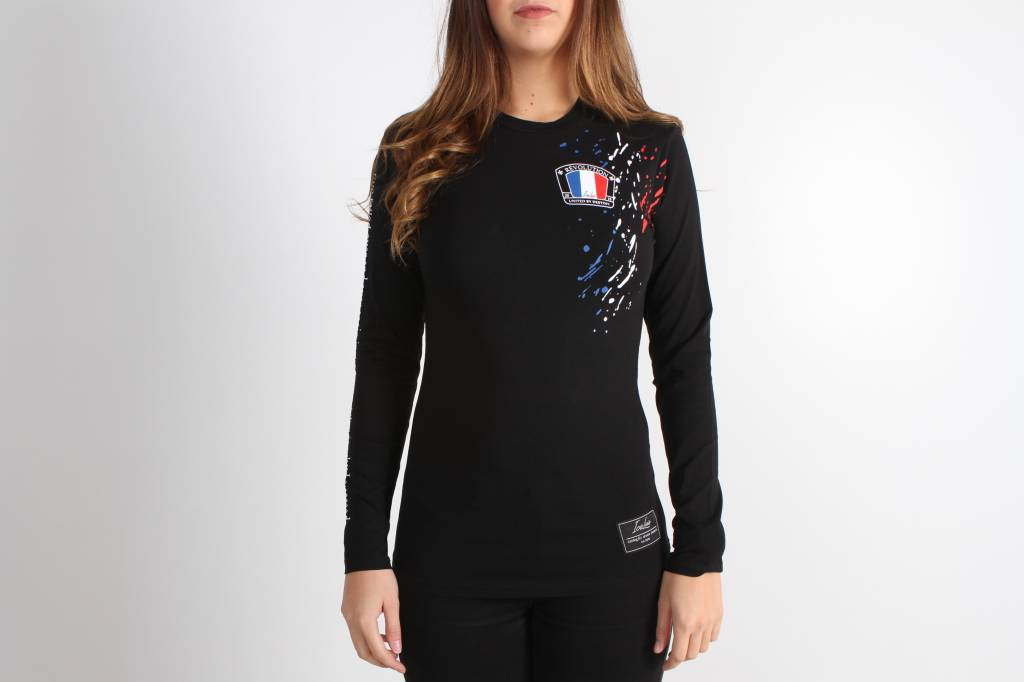 Icelus Clothing Paint Longsleeve Black Women