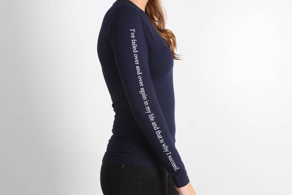 Icelus Clothing Paint Longsleeve Blue Women