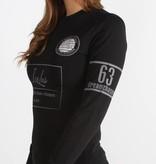 Icelus Clothing Football Jersey Black Women