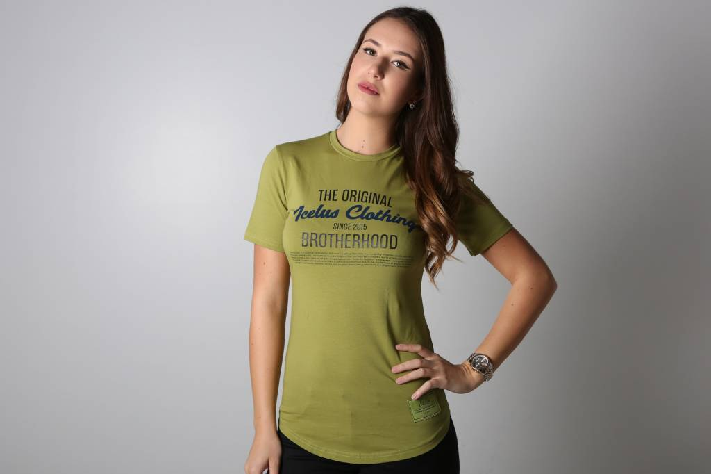 Icelus Clothing Brotherhood Series Green Women