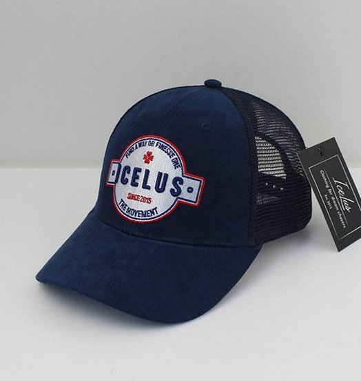 Icelus Clothing Suede Cap Blue