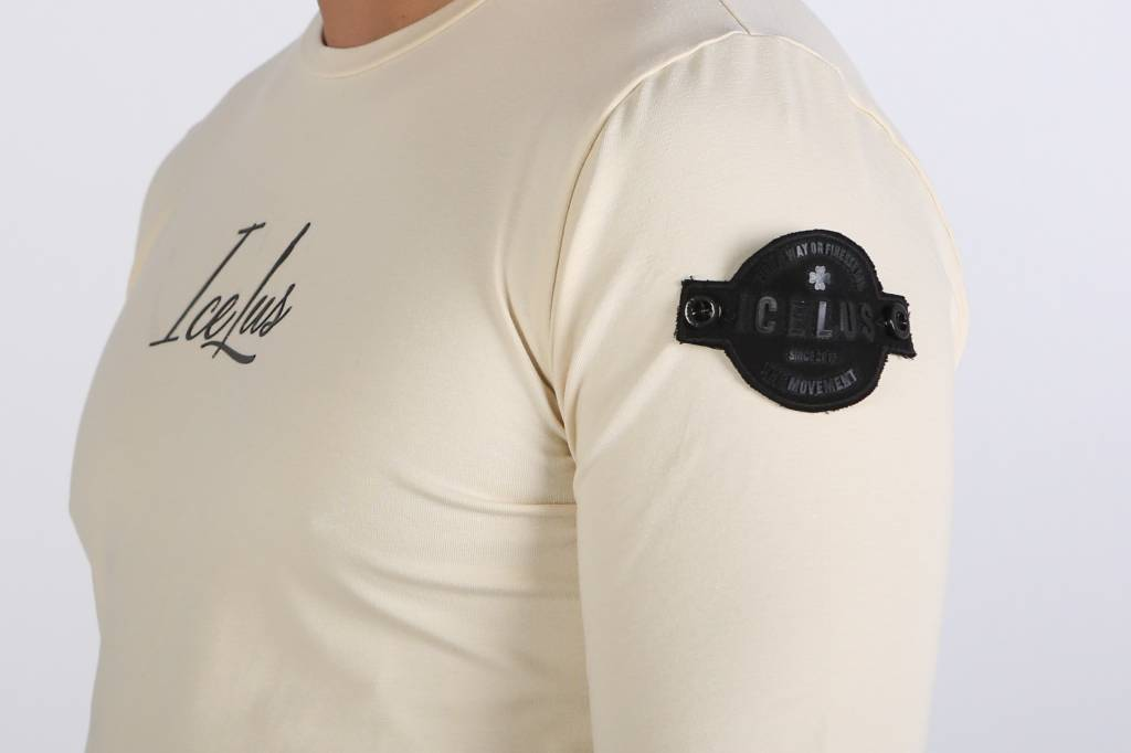 Icelus Clothing Patch Longsleeve Vanilla