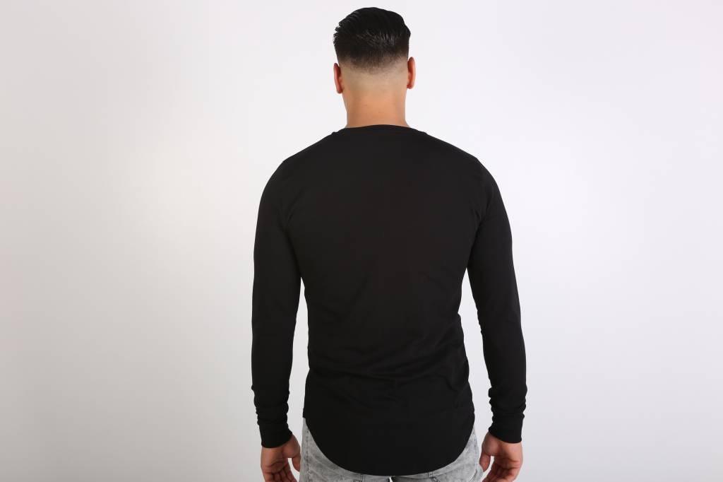 Icelus Clothing Danger Long Sleeve Black