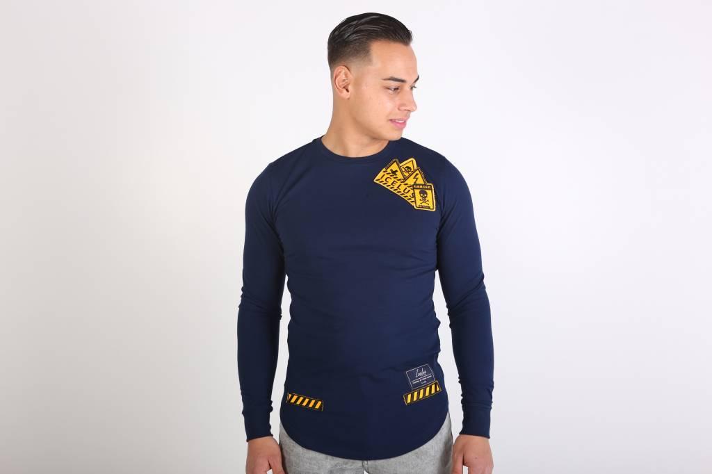 Icelus Clothing Danger Long Sleeve Blue