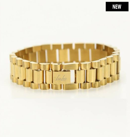 Icelus Clothing Steel Bracelet Gold